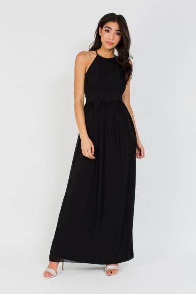 TFNC Telsa Black Maxi Dress