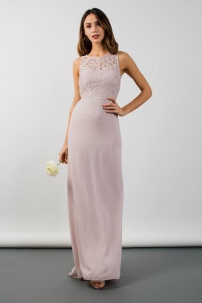 TFNC Nais Mink Maxi Dress