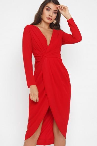 TFNC Gweno Red Midi Dress