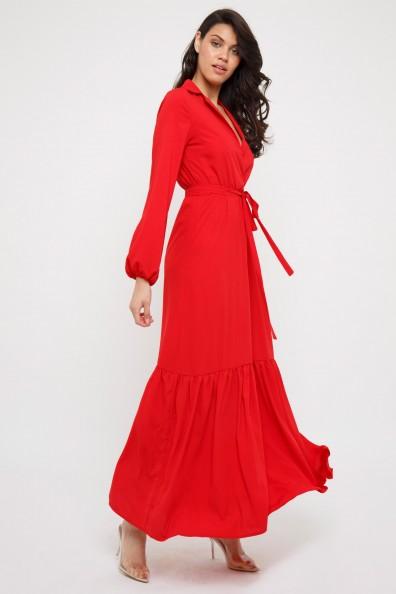 TFNC Ziggy Red Maxi Dress