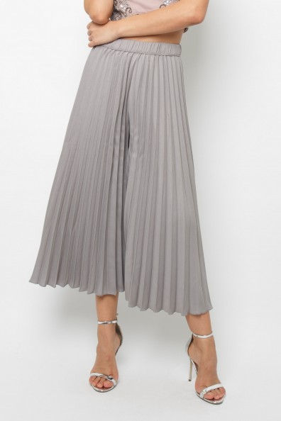 Lace & Beads Rohim Grey Trousers