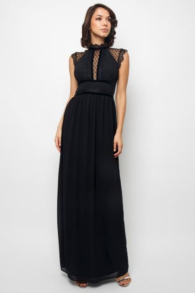 TFNC Trueth Black Maxi Dress