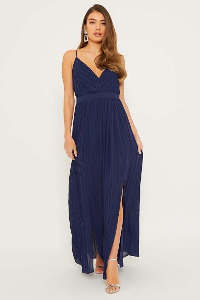 TFNC Sabrina Navy Maxi Dress
