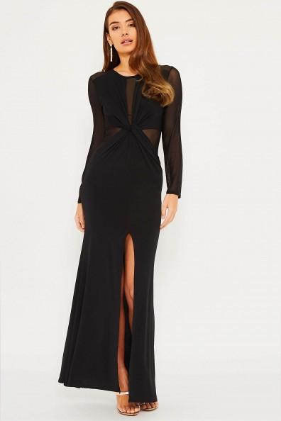 TFNC Rafaelle Black Maxi Dress