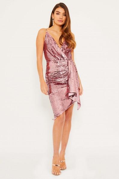 TFNC Ricki Pink Mini Dress