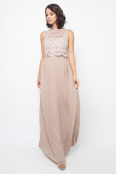 TFNC Camden Mink Maxi Dress