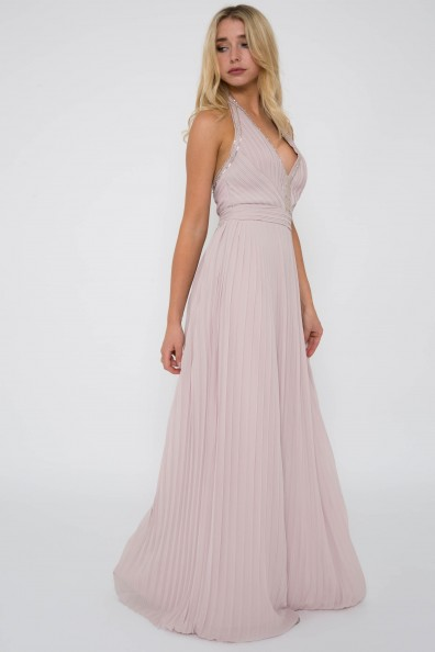 TFNC Veleska New Mink Maxi Dress