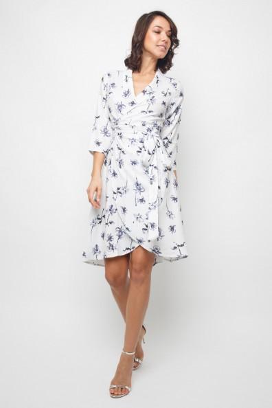 Lace & Beads Corella White Midi Dress