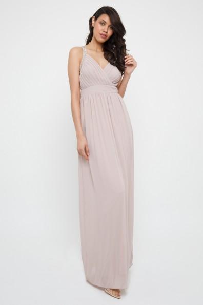 TFNC Tish Whisper Pink Maxi Dress