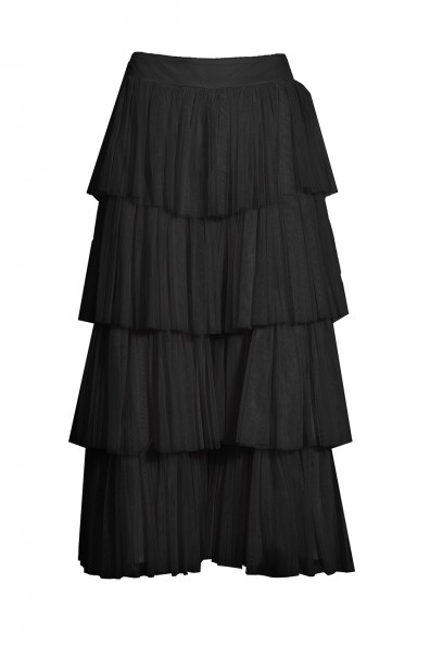 Lace & Beads Aston Black Culottes