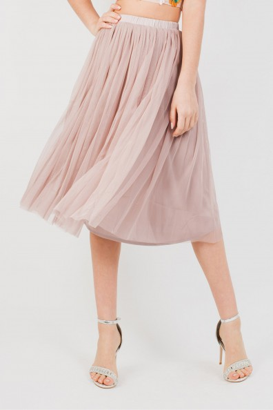 Lace & Beads Val Mink Skirt