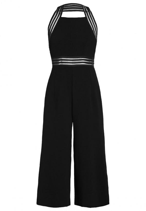 TFNC Batriza Black Jumpsuit