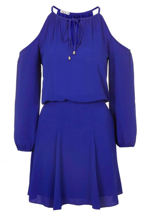 WalG Cold Shoulder Boho Dress