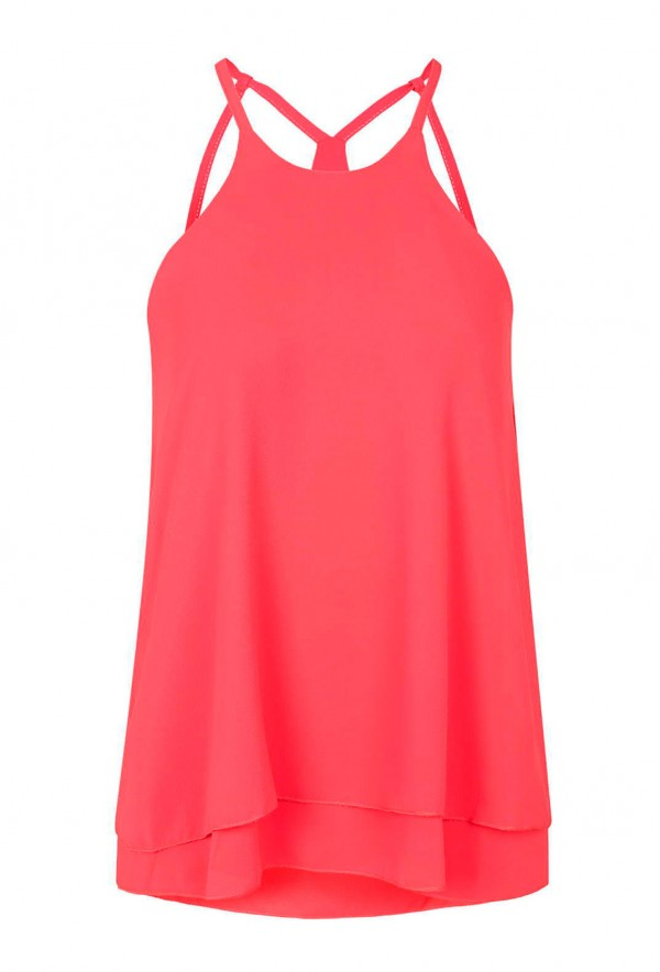 WalG Strappy Pink Cami Top