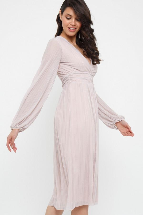 TFNC Samia Mink Midi Dress