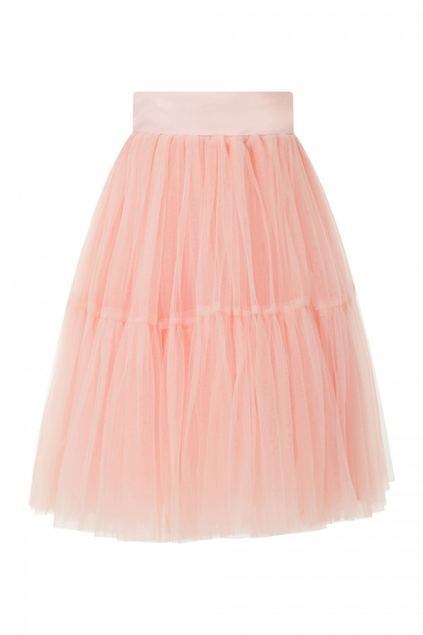 Lace & Beads Eviau Pink Skirt