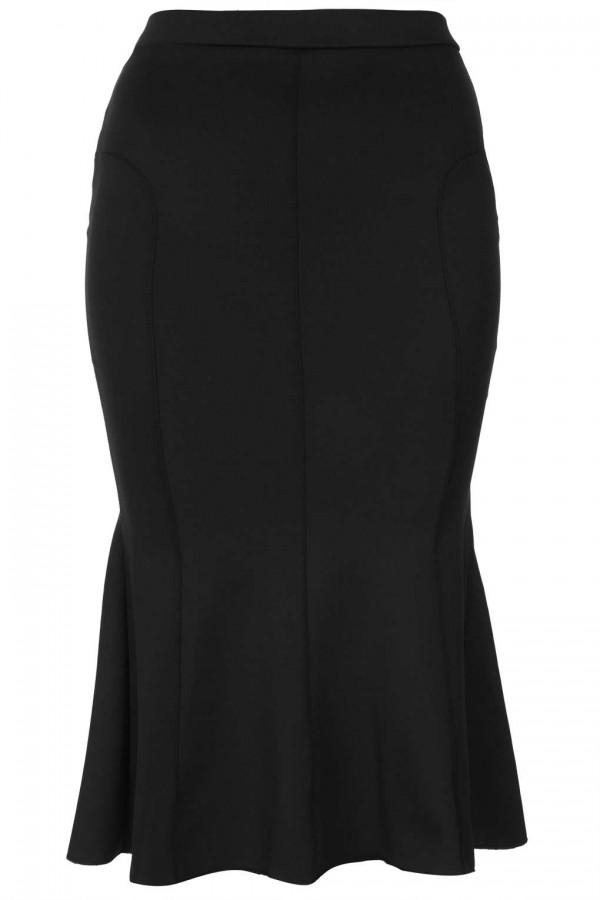 TFNC Tess Fishtail Hem Midi Skirt