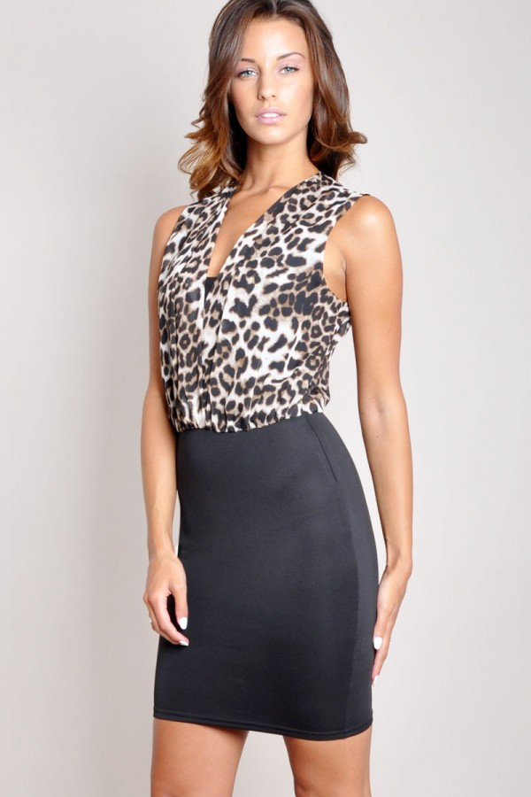 TFNC Karlee Body Con Dress