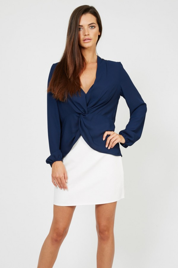 TFNC Lillian Navy Blouse