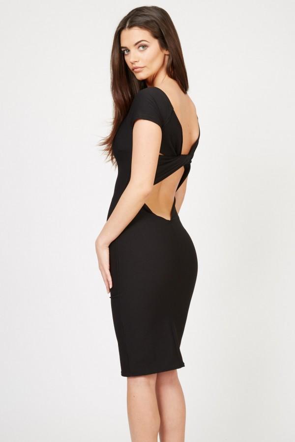 TFNC Shela Black Dress