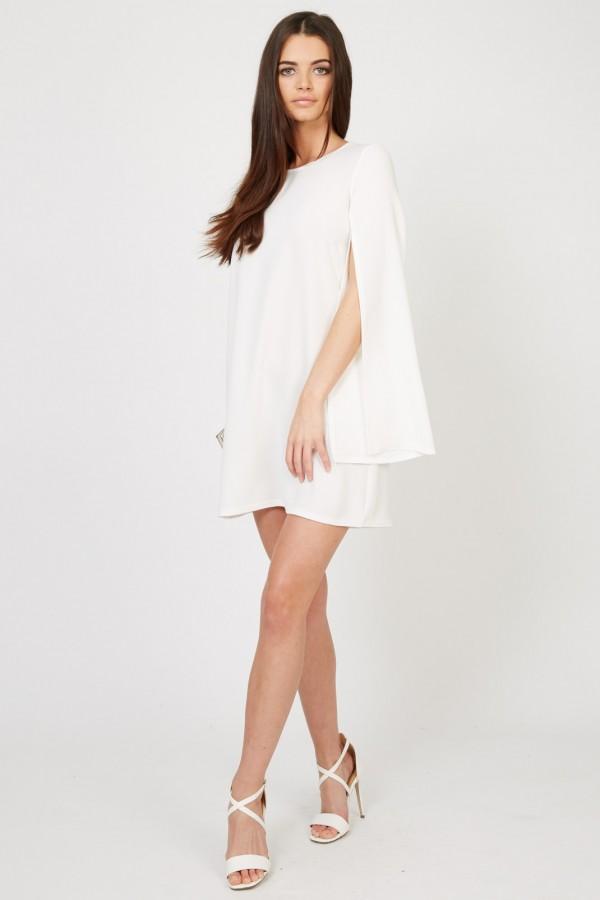 TFNC Amika White Dress