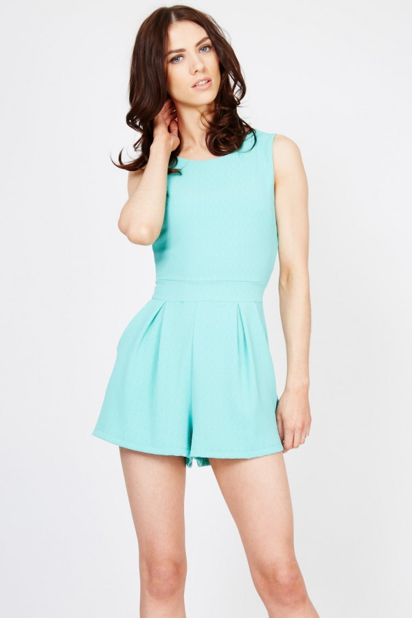WalG Bella Aqua Playsuit