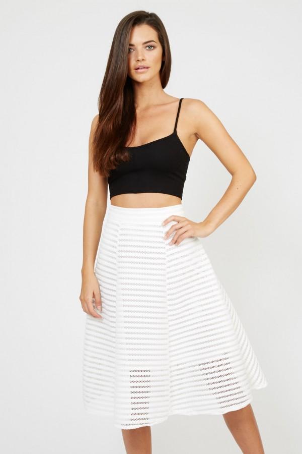 TFNC K20 White Skirt
