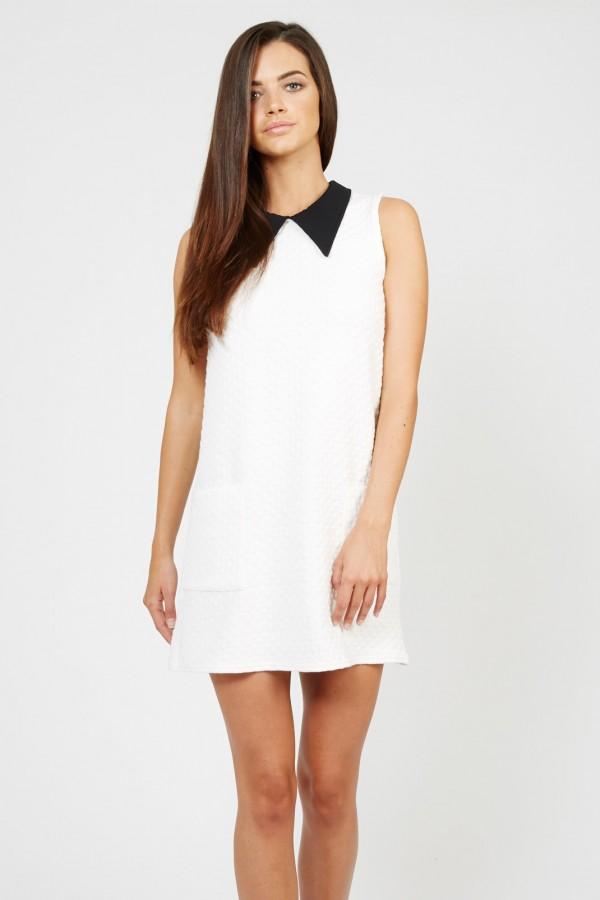 TFNC Maria White Dress