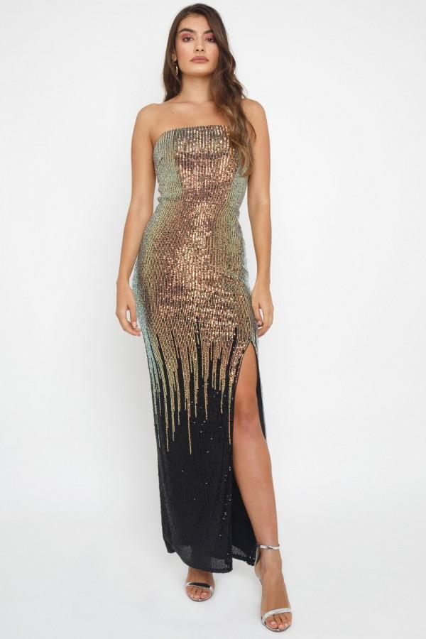 TFNC Sirina Multi Maxi Dress