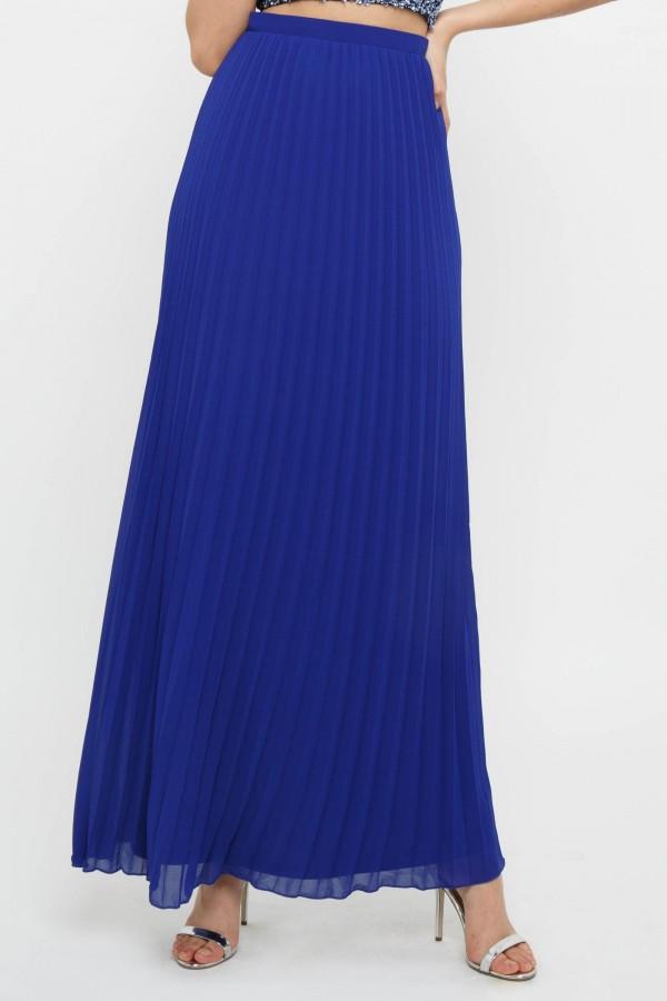 TFNC R22 Cobalt Maxi Skirt