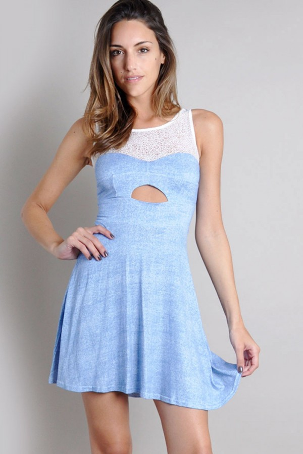 TFNC Solly Fit and Flare Dress