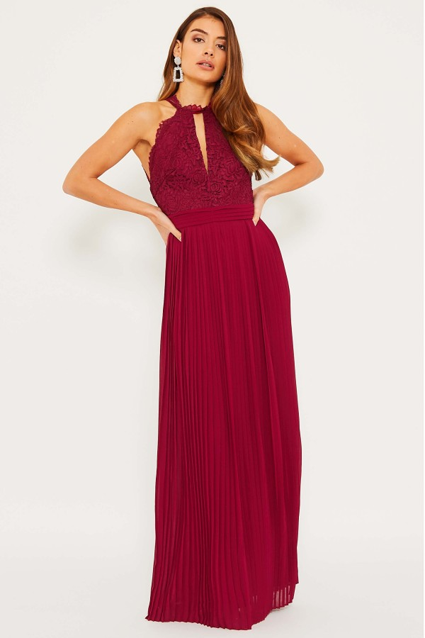 TFNC Madison Mulberry Maxi Dress