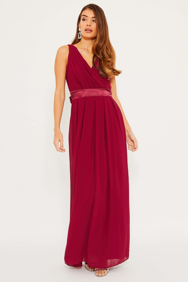 TFNC Kily Mulberry Maxi Dress