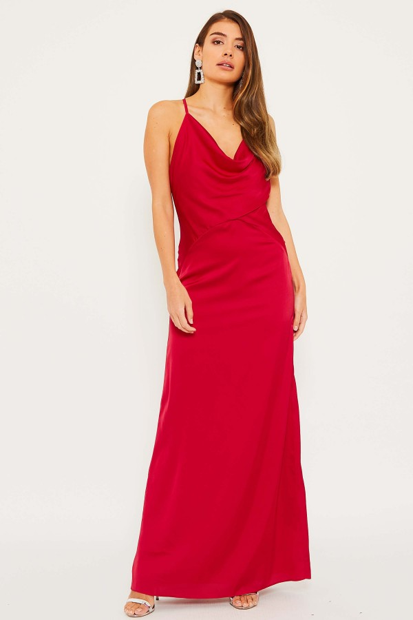 TFNC Mitley Red Maxi Dress