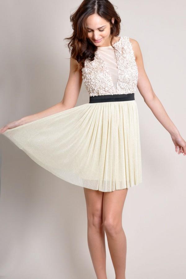 TFNC Duena Textured Dress