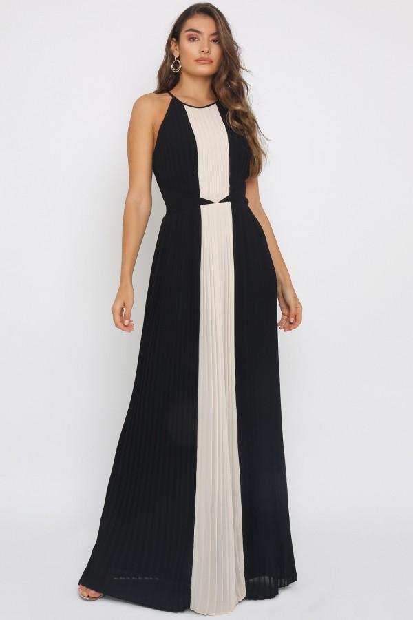 TFNC Nazelli Black Maxi Dress
