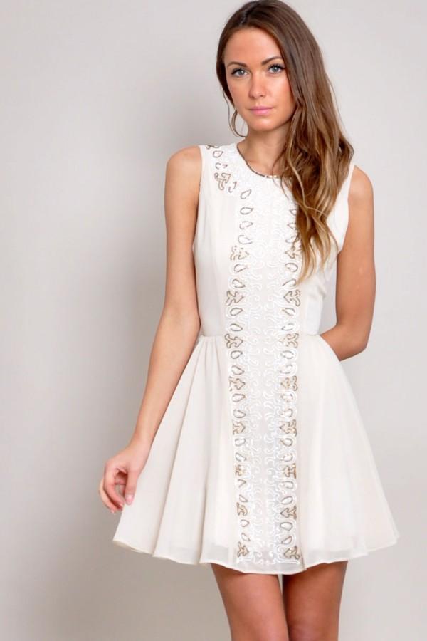 TFNC Demi Embellished Dress