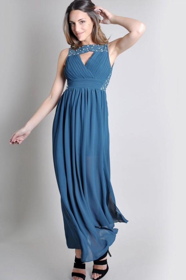 TFNC Nikita Embellished Maxi Dress