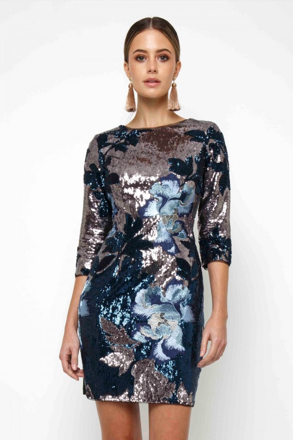 TFNC Paris Basma Mini Dress