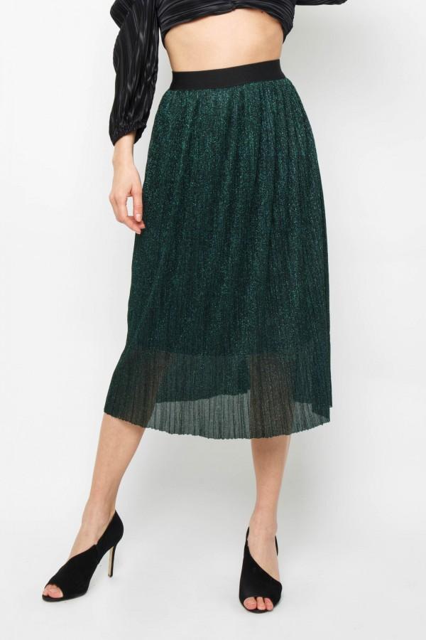 TFNC Pandora Green Midi Skirt
