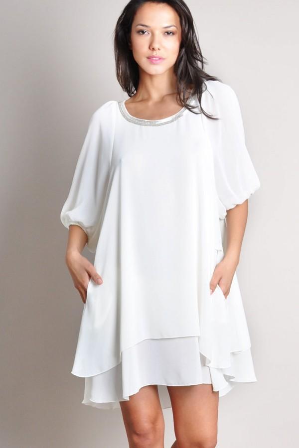 TFNC Michelle Embellished Dress
