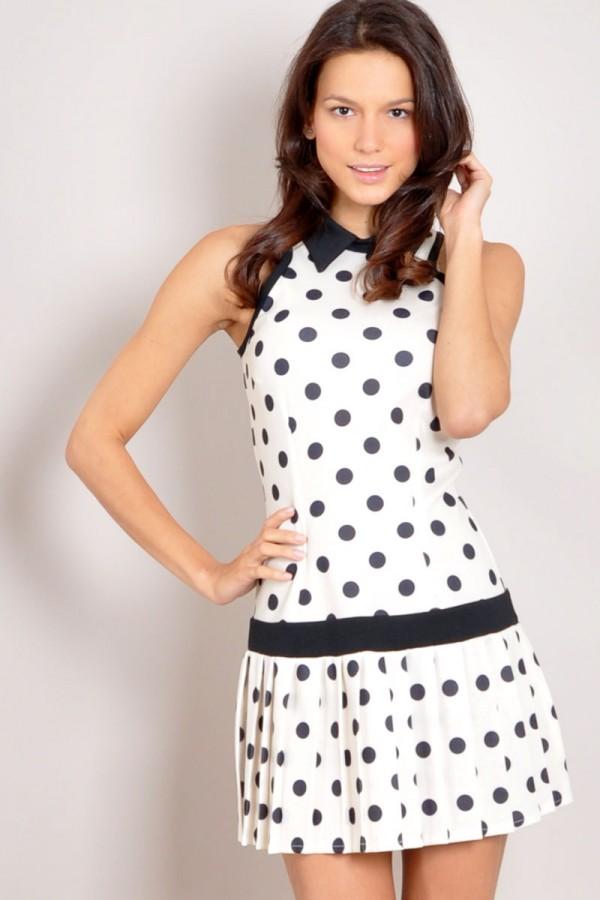 TFNC Telma Dotty Dress
