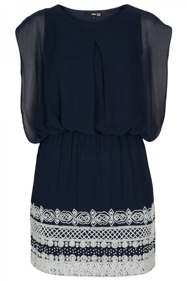 TFNC Roxy Embellished Dress