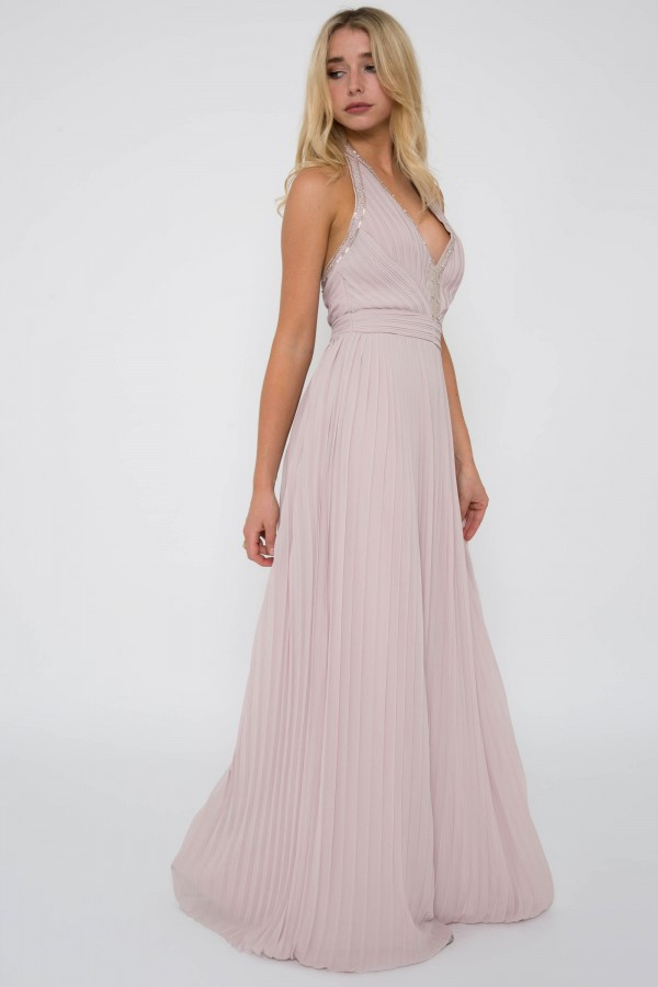 TFNC Veleska New Mink Maxi Dress