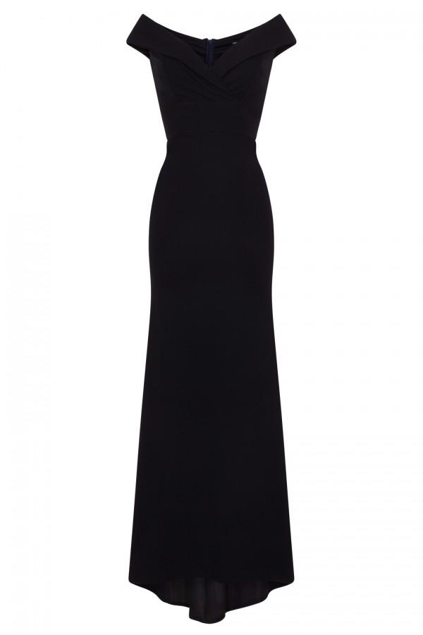 TFNC Kamia Navy Maxi Dress