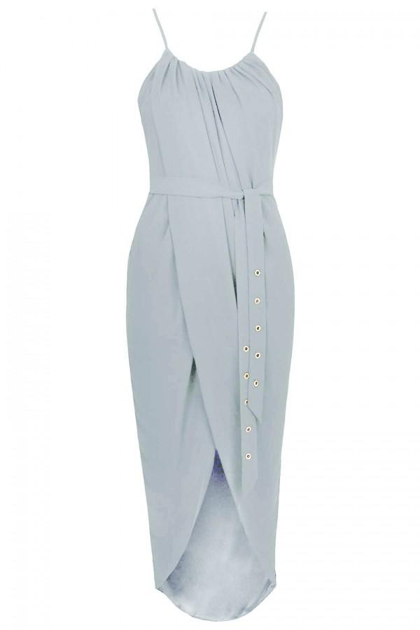 TFNC Zeus Grey Dress