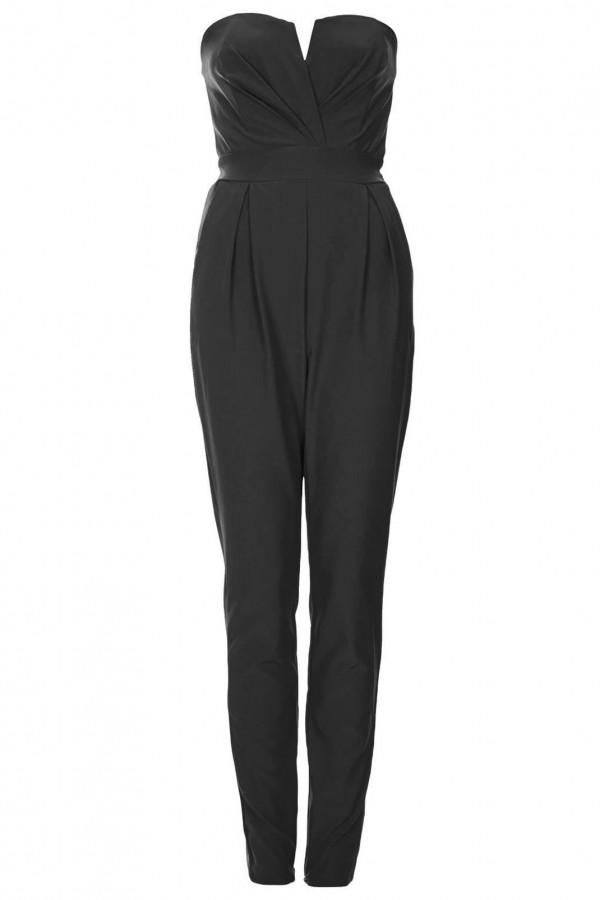 TFNC Thalia Black Jumpsuit