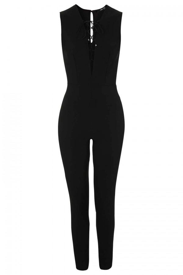 TFNC Tamara Black Jumpsuit