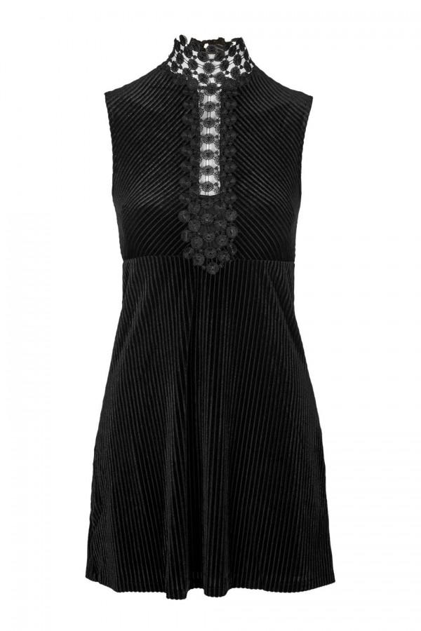 TFNC Valenteen Black Dress