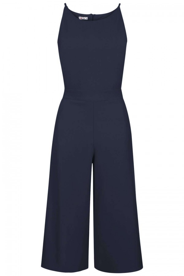 WalG Culottes Navy Jumpsuit